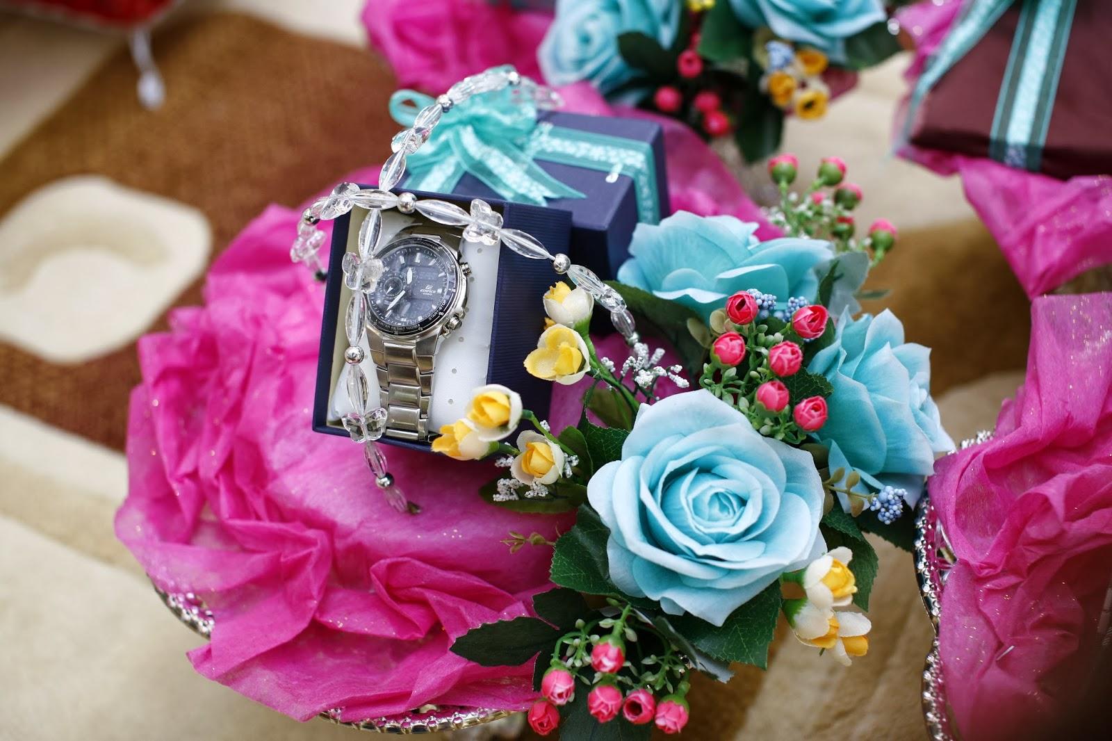 Idea gubahan hantaran perkahwinan atau pertunangan d ef jay for Idea untuk doorgift perkahwinan