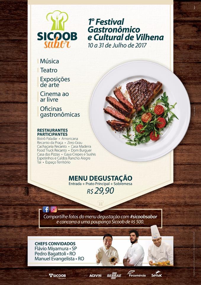 Sicoob Sabor - Festival Gastronômico e Cultural de Vilhena