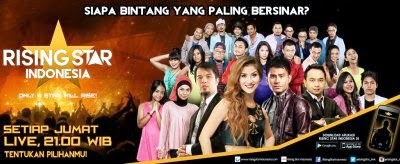 TOP 12 Kontestan Rising Star Indonesia