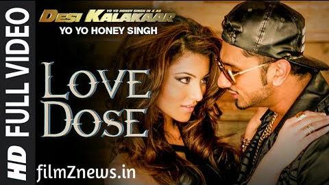 LOVE DOSE Full Video Song from Desi Kalakaar - Yo Yo Honey Singh, Urvashi Rautela
