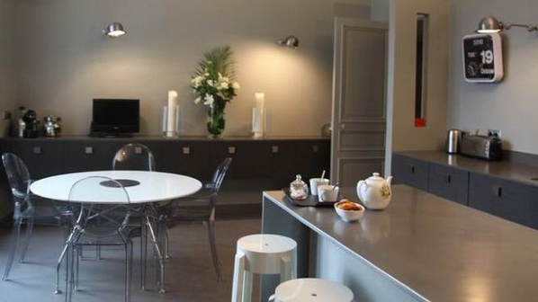 id es de d coration pour salles manger dans des espaces ouverts d cor de maison d coration. Black Bedroom Furniture Sets. Home Design Ideas