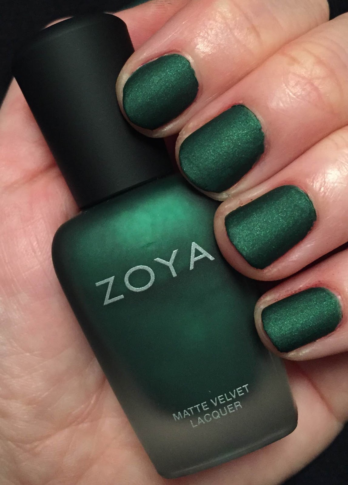 Zoya Nail Poilsh MatteVelvet Polish Collection Fall 2014 Veruschka