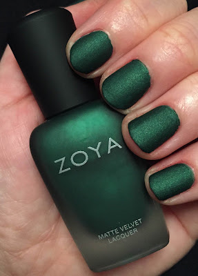 Zoya, Zoya nail poilsh, Zoya MatteVelvet nail polish collection Fall 2014, Zoya Veruschka, nails, nail polish, nail lacquer, nail varnish, manicure, #ManiMonday, Mani Monday