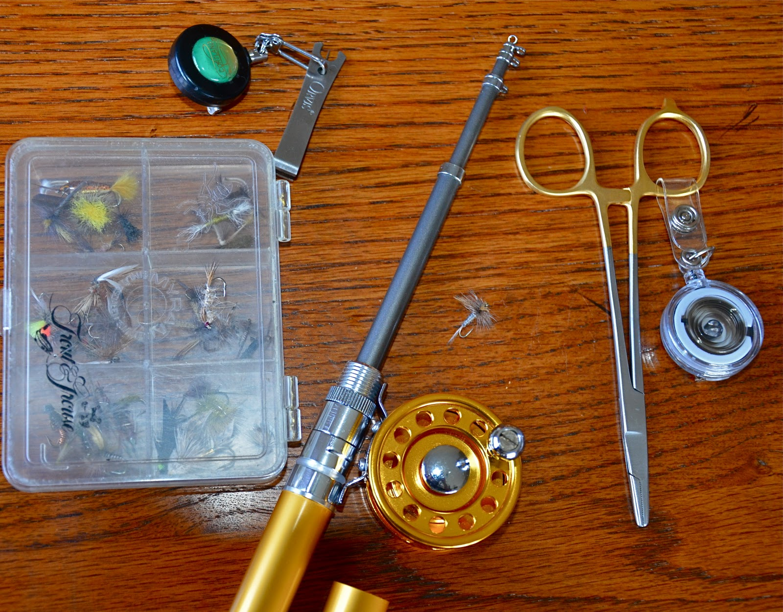 Silent sports chicago new ultralight fly fishing set up for Ultralight fly fishing