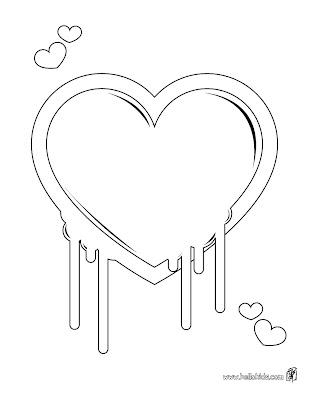 Desenho como desenhar dia-dos-namorados-12-Junho coração e flores pintar e colorir