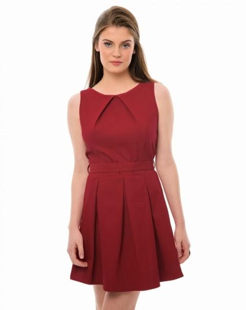 vestido rodado de piquet