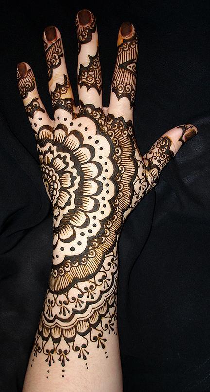 Cool Mehndi Patterns : Cool indian and arabic bridal mehndi designs barbie craze