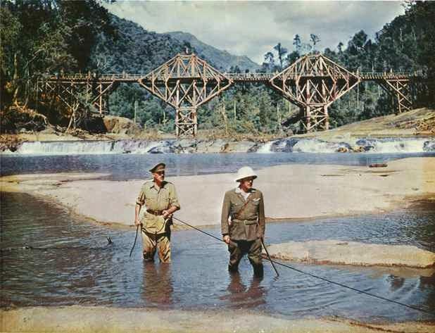 ... do Filme A Ponte do Rio Kwai