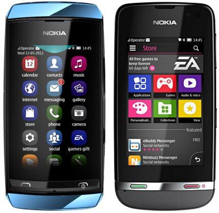 Nokia Asha 305, Nokia Asha 306 y Nokia Asha 311