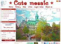 Efecto mosaico para fotos Cute Mosaic