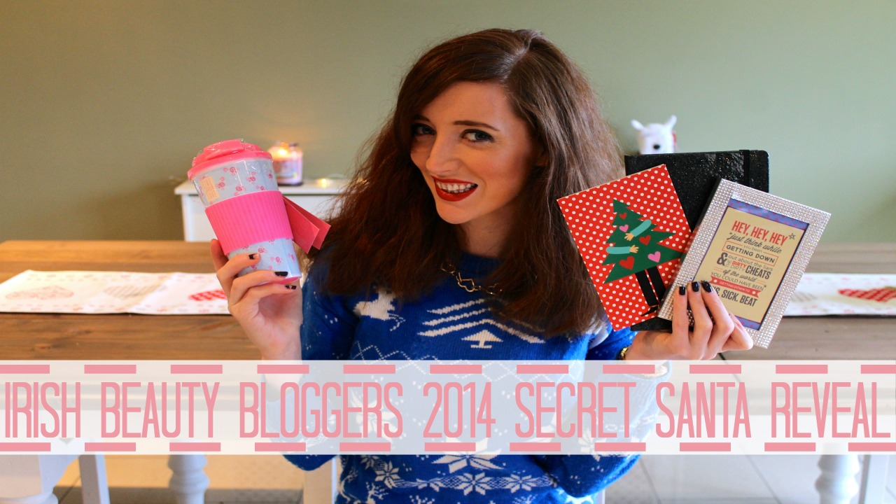 irish beauty bloggers secret santa bec boop