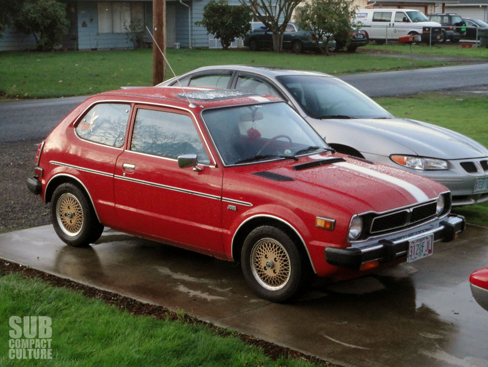 Subcompact Showcase This Swapped 78 Civic Ruby Is A Gem