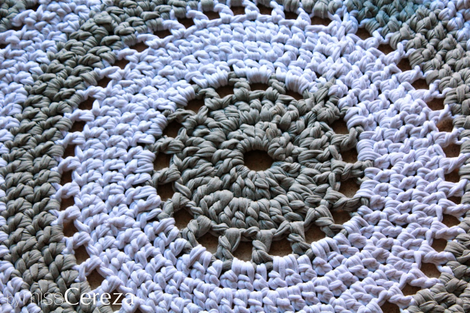 diy alfombra de trapillo