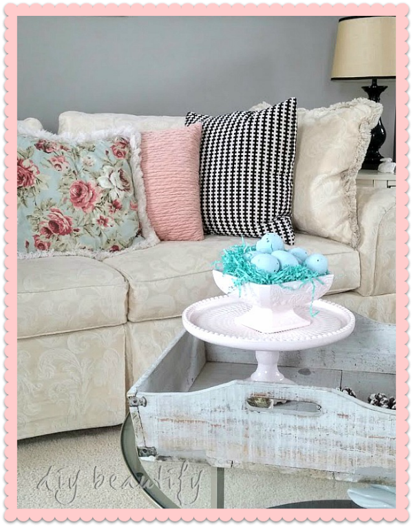 Easter decor DIY beautify