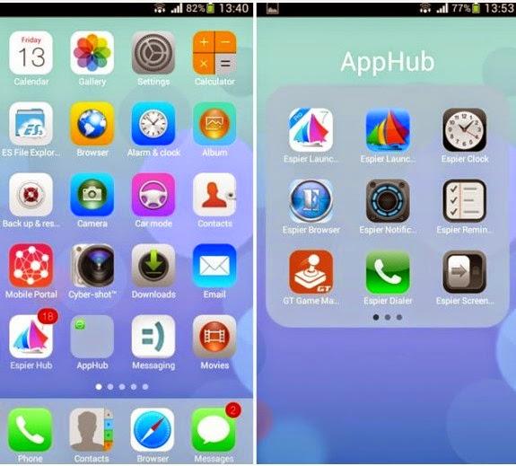 Aplikasi Tema Android Keren