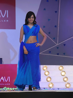 samantha sexy pic in blue dress