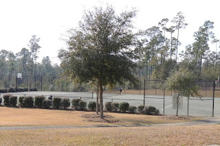 Basketball Courts & Tennis Courts at Nature Trail~