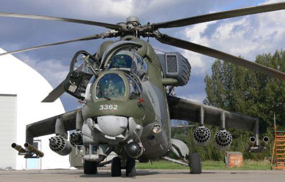 Helikopter serang Rusia Mi-35