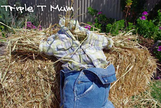 Toddler-Sized Scarecrow