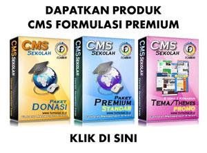 CMS Formulasi Premium