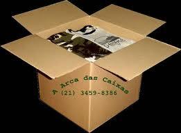 Caixas de papelão para mudança - A Arca das Caixas tem embalagem