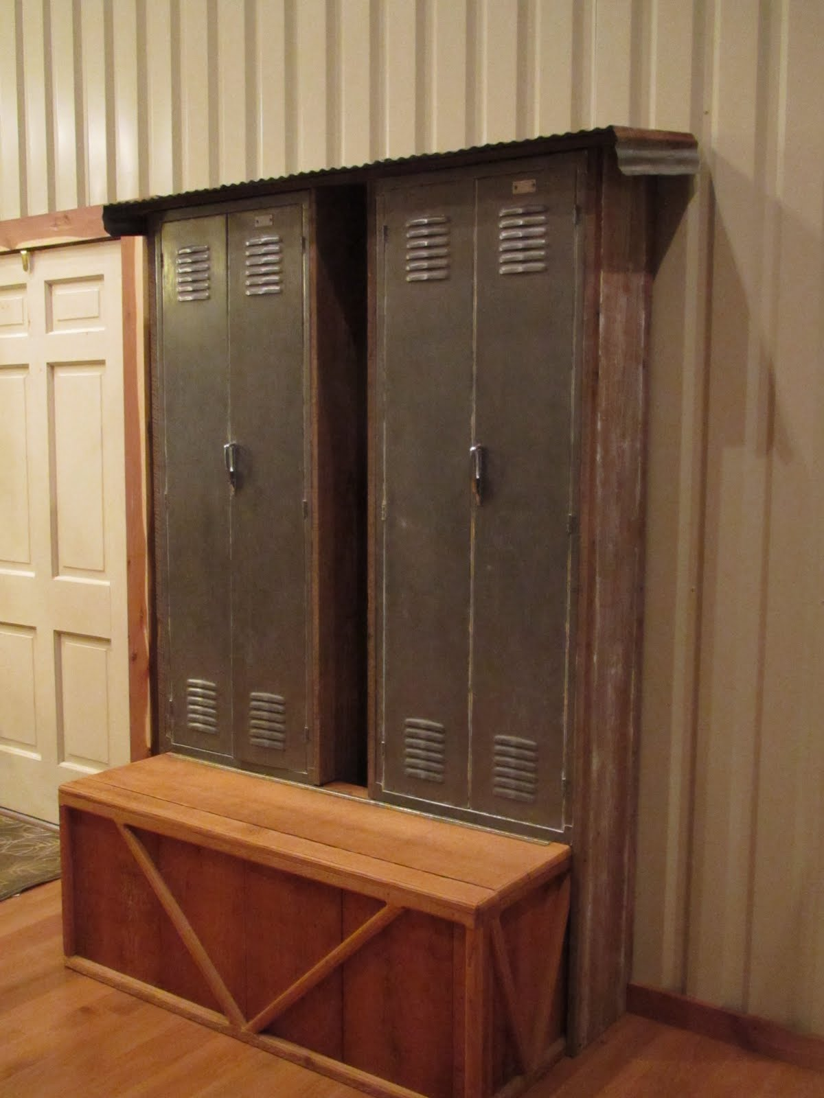 The weld house mudroom lockers for House lockers