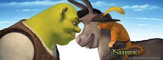 une couverture facebook Shrek