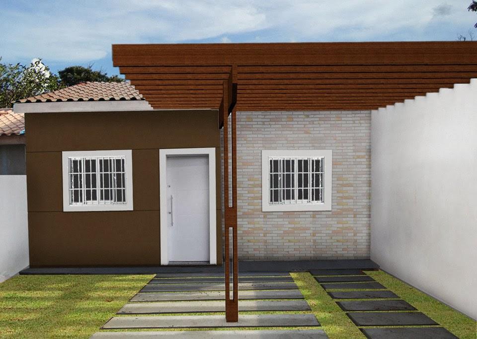 Construindo no 119 mudan a no projeto for Casa minimalista barata