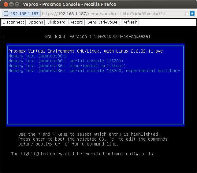 Como Instalar Y Configurar Proxmox 2 1 Videojuegos Y