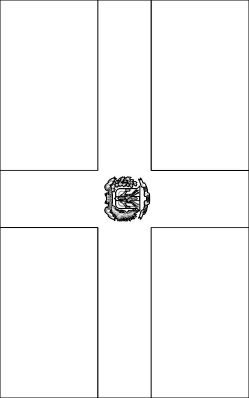colorear bandera de la Republica Dominicana para imprimir
