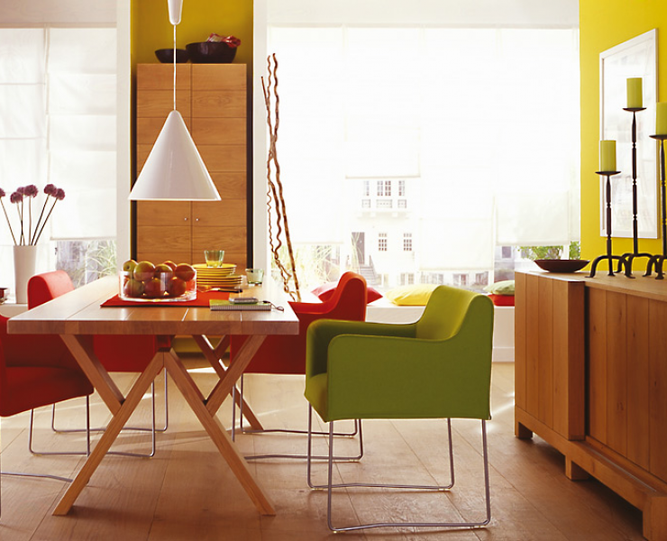 Wohnzimmer wande farbig gestalten raum und m beldesign inspiration - Wande gestalten ...