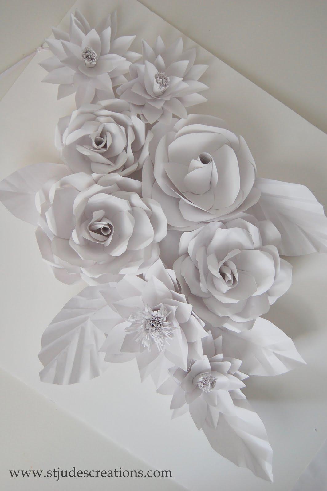 wedding backdrop flowers