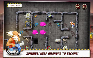 Grandpa and the Zombies Funny Android Game ,