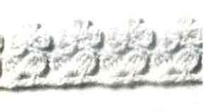 Оборка для платья края крючком