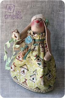 заяц, тильда, ручная работа, handmade