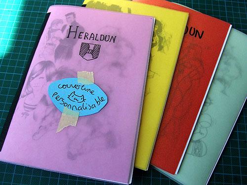 Héraldun, skechbook.