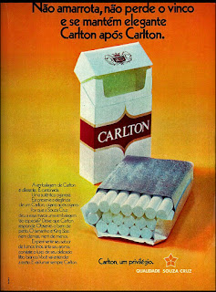 1973, propaganda anos 70; história decada de 70; reclame anos 70; propaganda cigarros anos 70. Brazil in the 70s; Oswaldo Hernandez;