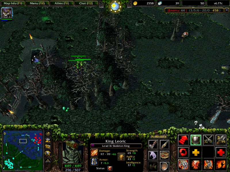 Tutorial] Cara Hacking Dota Menggunakan Map Hack (MH) Dota Warcraff