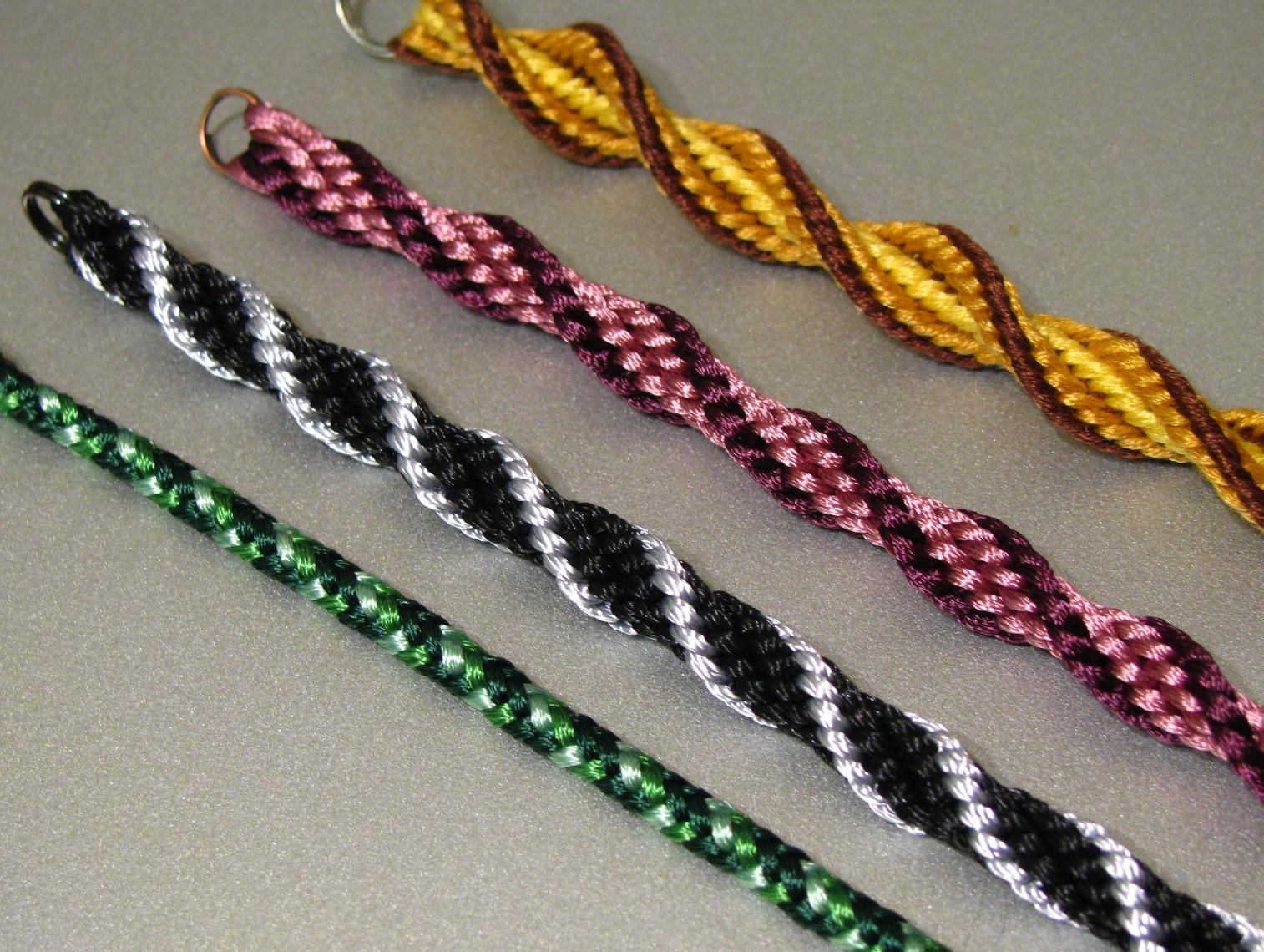Кумихимо плетения шнурков