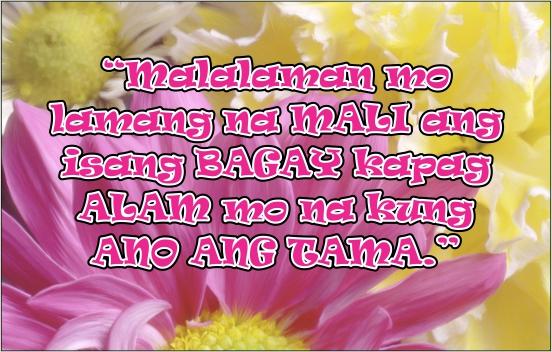 tagalog life quotes