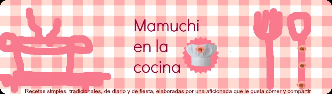 Mamuchi en la cocina