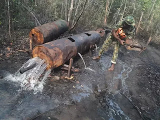 Operation Crocodile Smile II: Troops record success in Niger Delta (see the photos)