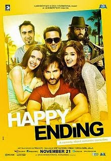 Complete cast and crew of Happy Ending (2014) bollywood hindi movie wiki, poster, Trailer, music list - Aditya Roy Kapur, Parineeti Chopraa