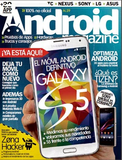 Android Magazine Mayo 2014 PDF Digital