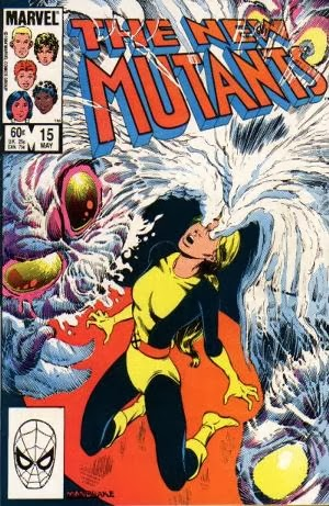 New Mutants #15 comic cover
