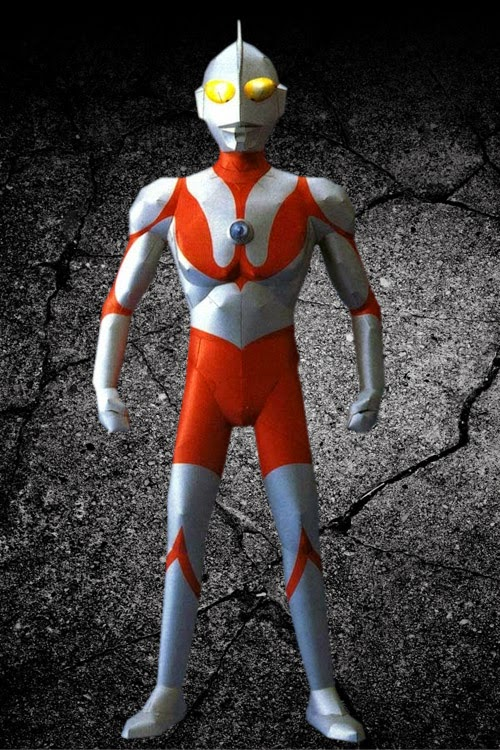 Ultraman Papercraft Free Download
