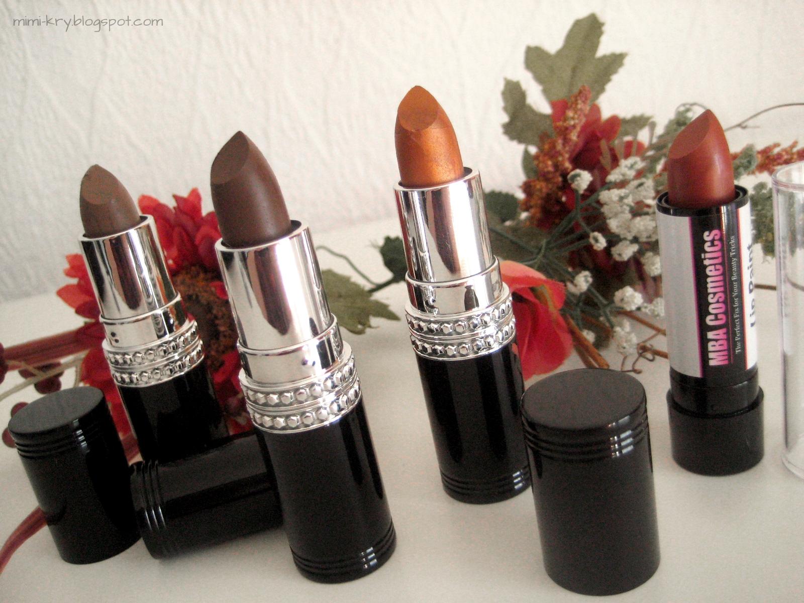 Bild von MBA Cosmetics Lip Sticks und Lip Paint