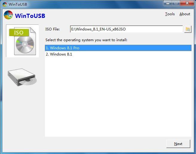 WintUSB V2.0 screenshot http://www.jembersantri.blogspot.com