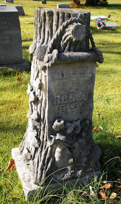 East Union Mennonite Church >> Engraved: : I Think That I Shall Never See Anything Lovelier Than a Tombstone Created As a Tree