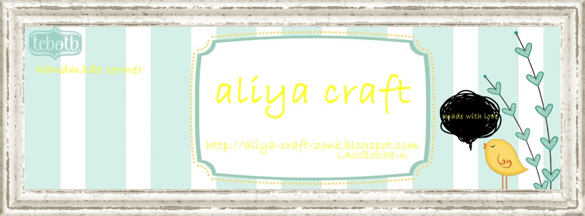 aLiYa's cRaFt
